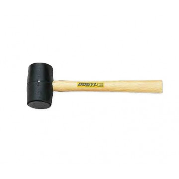 DOGYU  WOODEN HANDLE RUBBER HAMMER