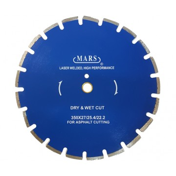 MARS DIAMOND CUTTING WHEEL FOR ASPHALT - DRY & WET