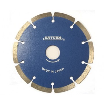 SATURN DIAMOND CUTTING WHEEL, SEGMENT - DRY
