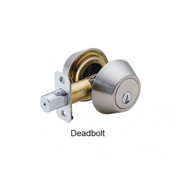 FAULTLESS CYLINDER DEADBOLT LOCK