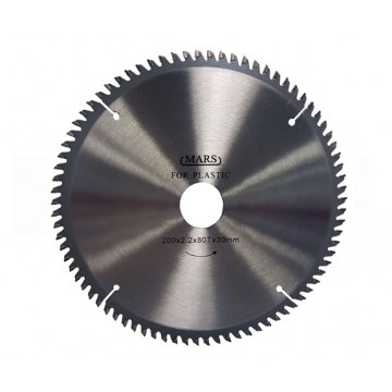 MARS TUNGSTEN CARBIDE-TIPPED CIRCULAR SAW BLADE FOR PLASTIC