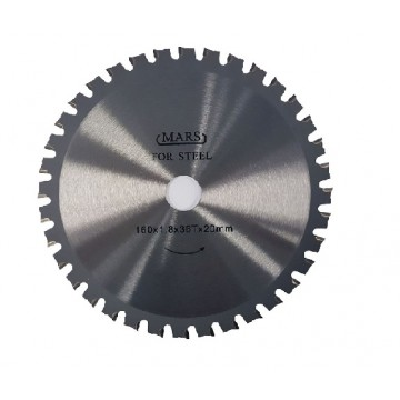 MARS TUNGSTEN CARBIDE-TIPPED CIRCULAR SAW BLADE FOR STAINLESS STEEL