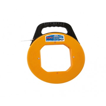 OPT FIBERGLASS FISH TAPE WITH LEADER AND CASE - BF
