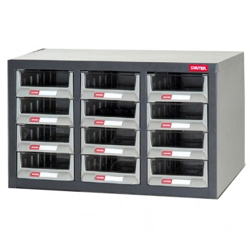 SHUTER STEEL CASE WITH PLASTIC DRAWERS A5-312