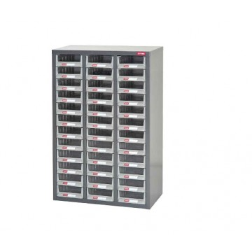 SHUTER STEEL CASE WITH PLASTIC DRAWERS A5-336