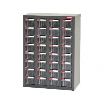 SHUTER STEEL CASE WITH PLASTIC DRAWERS A8-432