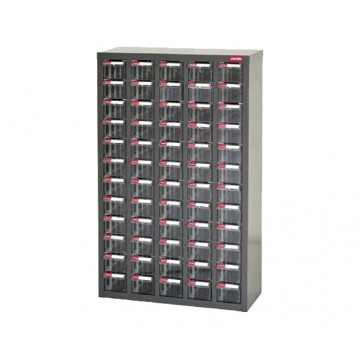 SHUTER STEEL CASE WITH PLASTIC DRAWERS A8-560
